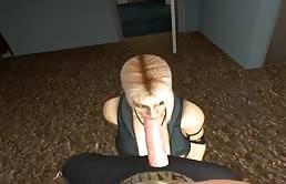 Ragazze hentai dalle tette grosse si godono un cazzo enorme