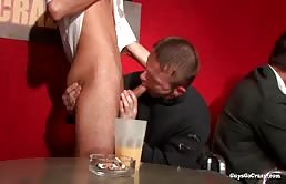 Orgia con sesso orale e anale