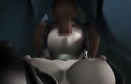 Bella troietta hentai fottuta in bocca e figa